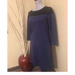 Gap XS Navy and black colorblock dress size XS